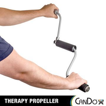 CanDo Therapy Propeller Upper Body Exerciser for Strength Training, Range of Motion, Shoulder Mobility, Rehabilitation, Athletic Training and Physical Therapy