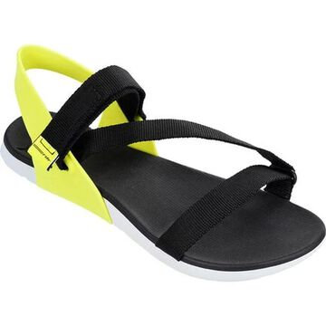 Rider Women's RX Ankle Strap Sandal White/Black/Green