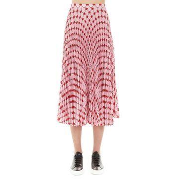 Markus Lupfer hailey Iconic Lip Skirt