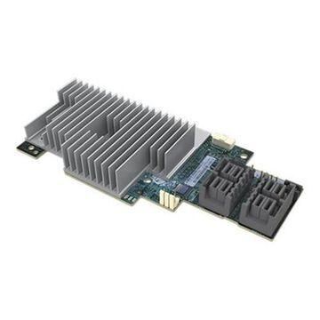 IntelIntegrated RAID Module RMS3AC160 - Storage controller - 16 Channel - SATA 6Gb/s / SAS 12Gb/s - 12 Gbit/s - RAID 0, 1, 5, 6, 10, 50, JBOD, 60 - PCIe 3.0 x8(RMS3AC160)