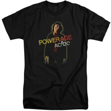 ACDC104-ATT-5 ACDC Powerage-S by S Adult Tall Short Sleeve Shirt, Black - 2X