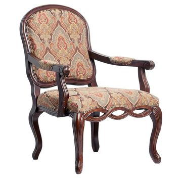 Bethany Hand-carved Accent Chair by Greyson Living - See Product Description - See Product Description (Brown)