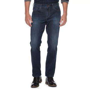 Men's Apt. 9 Premier Flex Straight-Fit Stretch Jeans, Size: 30X30, Blue