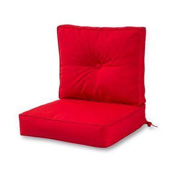 Greendale Home Fashions Outdoor Sunbrella Fabric Deep Seat Cushion Set