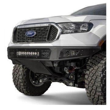 Addictive Desert Designs F222432090 Venom R Full Width Front Pre-Runner Bumper for 2019 Ford Ranger, Black