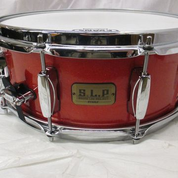 Used 5.5X14 Sound Lab Project Snare Drum Red Sparkle 10