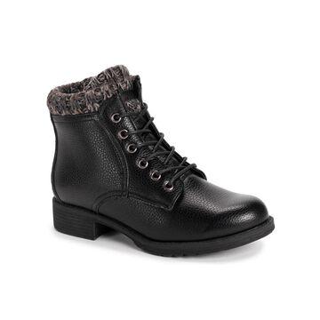 Muk Luks Women's Hiker Lug Sole Sweater Alps Boots Women's Shoes