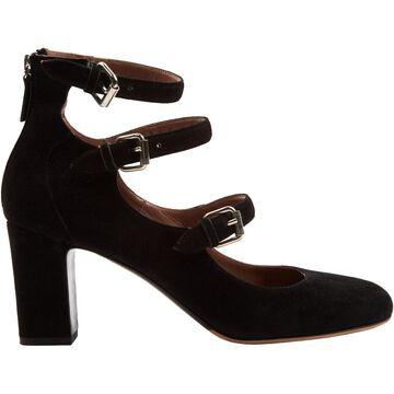 Tabitha Simmons Black Suede Heels