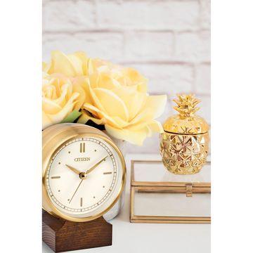 Citizen White Wall Clock-Cc3002