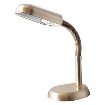 Lavish Home Sunlight Desk Lamp, Antique Brass