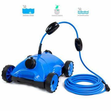 XtremepowerUS Water Bots Above / In Ground Swimming Pool Rover Robotic Floor Electric Automatic Pool Vacuums Cleaner