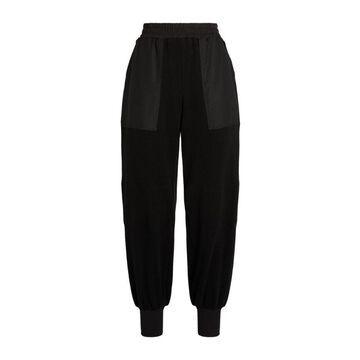 Yohji Yamamoto Oversized Contrast-Pocket Sweatpants