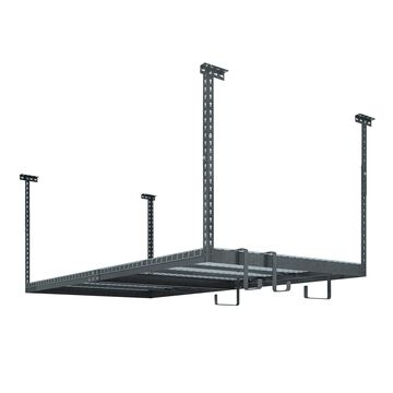 NewAge Products VersaRac Set with 1 Overhead Rack and 8 Piece Accessory Kit