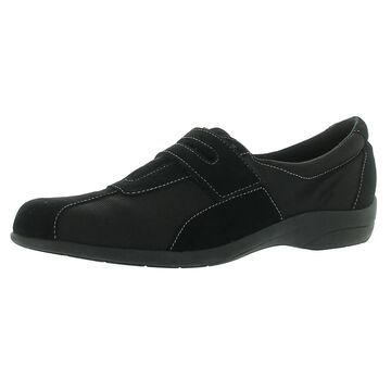 Munro Womens Joliet Running Shoes Leather Water Resistant - Black - 10 Medium (B,M)