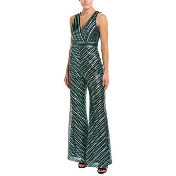 Theia Womens Jumpsuit