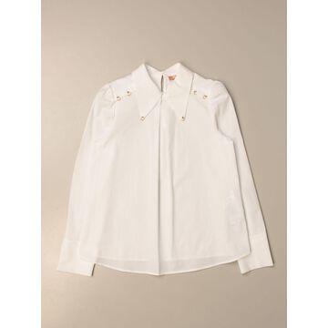 Elisabetta Franchi shirt with applications