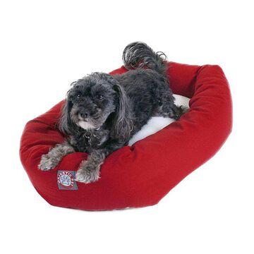 Majestic Pet Sherpa Bagel Pet Bed