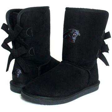 Women's Carolina Panthers Cuce Black Patron 2 Boots