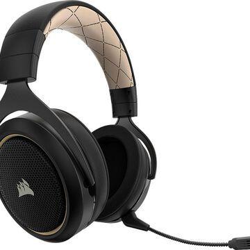 CORSAIR - HS70 SE Wireless Over-the-Ear Gaming Headset for PC - Black/Cream
