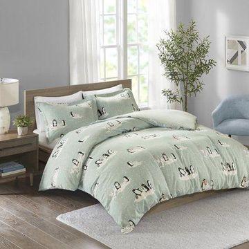 Comfort Classics Cozy Flannel 100% Cotton Printed Duvet Set