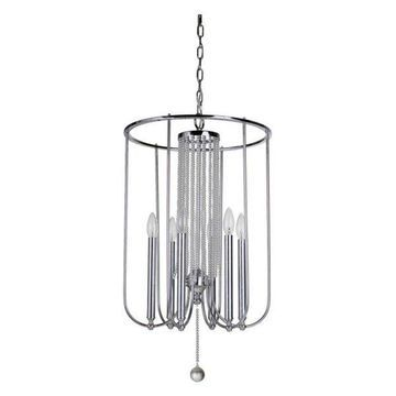 Jeremiah Lighting 40636 Cascade 6-Light Chandelier