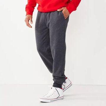 Men's Tek Gear Ultra Soft Fleece Joggers, Size: XL, Black