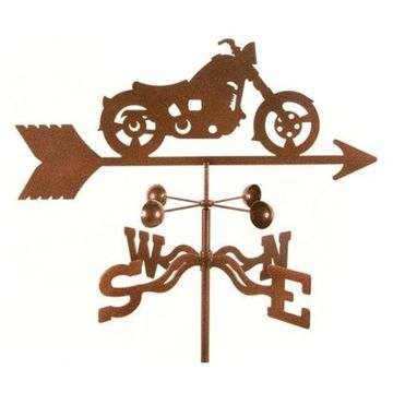 EZ Vane Classic Motorcycle Weathervane With Four Sided Mount