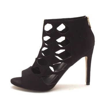 XOXO Womens cobie Open Toe Ankle Fashion Boots