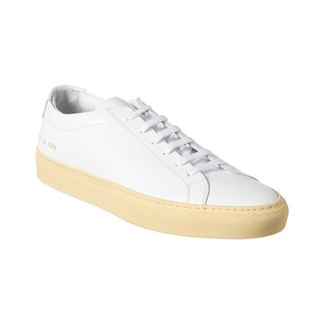 Common Projects Achilles Low Vintage Sole Leather Sneaker