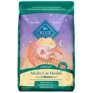 Blue Buffalo Multi-Cat Health Chicken & Turkey Recipe For Adult Cats