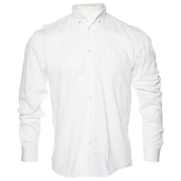 Balmain White Cotton Shirts