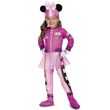 Disguise Minnie Roadster Deluxe Toddler Costume-Small (2T)