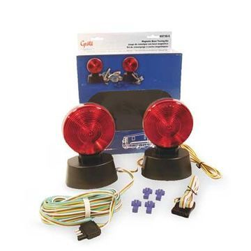 GROTE 65730-5 Towing Kit,Economy,Magnetic Base,12 Volt