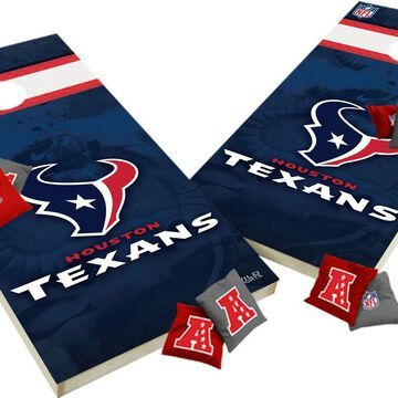 Wild Sports 2' x 4' Houston Texans XL Tailgate Bean Bag Toss Shields