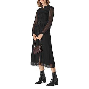 Whistles Belted Midi Dress