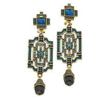 Heidi Daus Classic Edition Crystal Drop Earrings