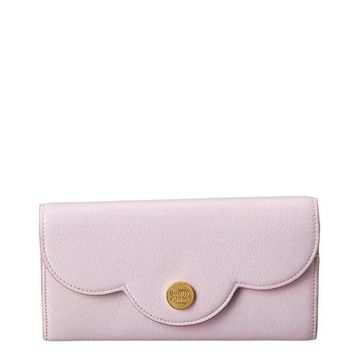 See By Chloe Long Leather Wallet