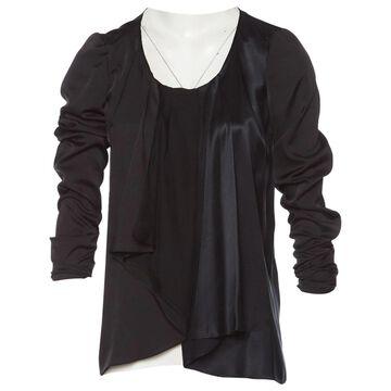 Vanessa Bruno \N Black Silk Tops