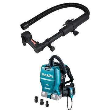Makita 193472-7 Dust Extraction Attachment with Makita XCV05ZX 8V X2 LXT Lit...