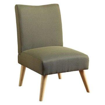 Furniture of America Lohen Accent Chair, Green
