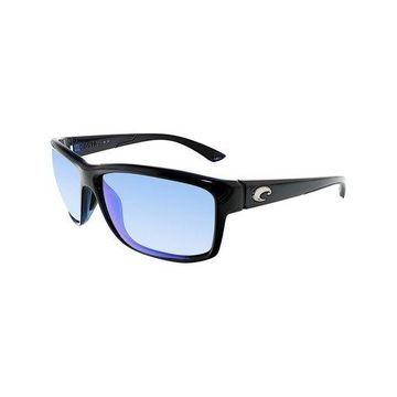 Costa Del Mar Polarized Mag Bay AA11OBMGLP Black Rectangle Sunglasses