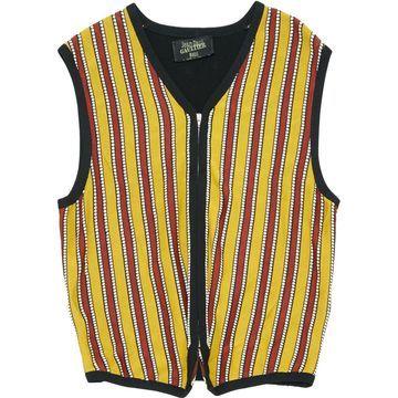 Jean Paul Gaultier Yellow Viscose Knitwear & Sweatshirts