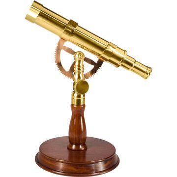 6x30 Spyscope, Anchormaster with Mahogany Desktop Pedestal