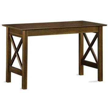 Atlantic Furniture Lexington Work Table-Color:Antique Walnut