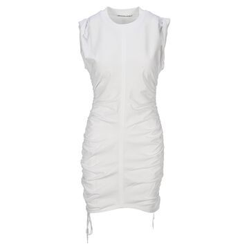 T By Alexander Wang Ruched Mini Dress