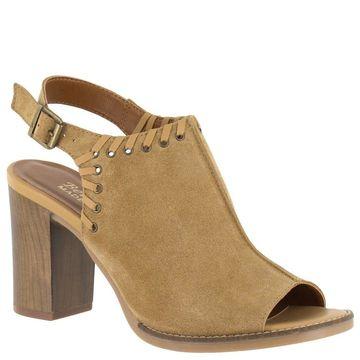 Bella Vita Womens Ora-Italy Peep Toe Casual Mule Sandals
