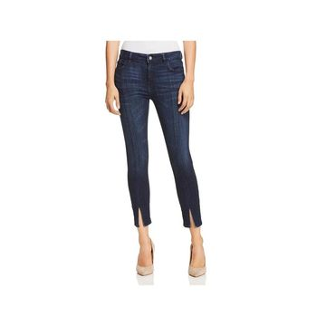 DL1961 Womens Cropped Jeans Skinny Split Hem