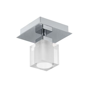 Eglo Bantry 1-Light 5 inch Matte Nickel Wall Light