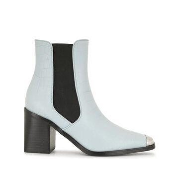 silver toe capped boots