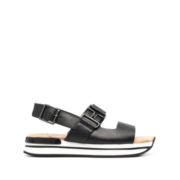 Hogan flatform sandals